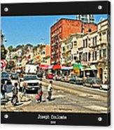 Urban Cross Walks Acrylic Print