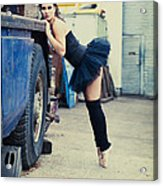 Urban Dancer Acrylic Print