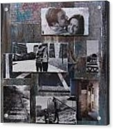 Urban Decay Engagement Collage Acrylic Print