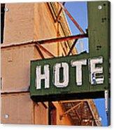 Urban Decay In Hollywood Acrylic Print