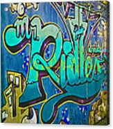 Urban Decay Acrylic Print