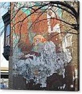 Urban Decay Mural Wall 4 Acrylic Print