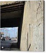 Urban Decay Train Bridge 2 Acrylic Print