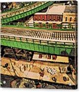 Urban Dock Acrylic Print