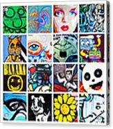 Urban Faces Acrylic Print
