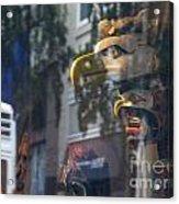 Urban Indian Symbolism Acrylic Print