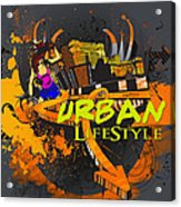 Urban Lifestyle Acrylic Print