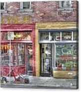 Urban Mercyseat Oil Painting Acrylic Print
