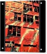 Urban Orange Acrylic Print