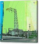 Urban Pop Art Acrylic Print