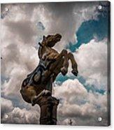 Urban Sky Horse Acrylic Print