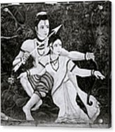 The Hindu Epic Acrylic Print