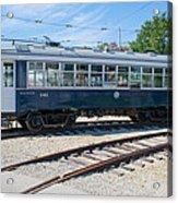 Urban Transportation Acrylic Print
