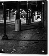 Urban Underground Acrylic Print