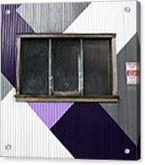 Urban Window- Photography Acrylic Print