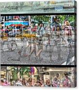 Urbanatomy - Flow Acrylic Print