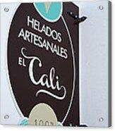 Uruguay Helados Acrylic Print