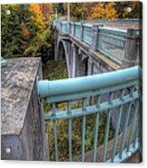 Us 62 At Mill Creek Park In Fall Acrylic Print
