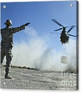 U.s. Air Force Master Sergeant Guides Acrylic Print