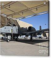 U.s. Air Force Pilot Performs Final Acrylic Print