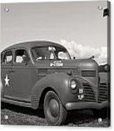 Us Army Dodge Staff Car Acrylic Print