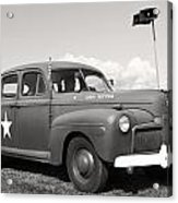 Us Army Ford Staff Car  Acrylic Print