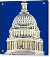 Us Capitol Dome Acrylic Print