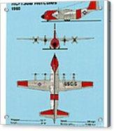 Coast Guard Hc-130 B Hercules Acrylic Print