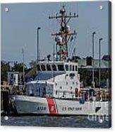 Us Coast Guard Yellowfin Acrylic Print