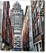 Us Customs House Philadelphia Acrylic Print