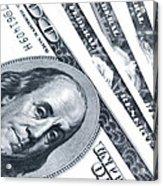 Us Dollar Bills  Acrylic Print
