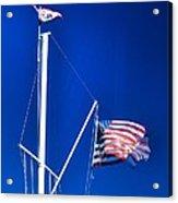 Us Flag 19749 Acrylic Print