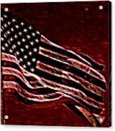 Us Flag Acrylic Print