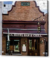 Us Hotel Bar And Grill - Manayunk  Acrylic Print