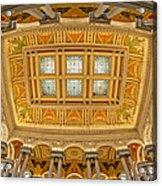 Us Library Of Congress Acrylic Print by Susan Candelario