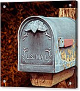 U.s. Mail Approved Acrylic Print
