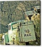Us Mail Acrylic Print by Merrick Imagery