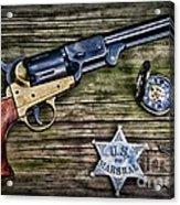 Us Marshall - American Justice - Cowboy Acrylic Print