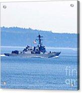 U.s. Navy Ship Acrylic Print