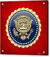 Presidential Service Badge - P S B Acrylic Print