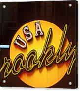 Usa Brooklyn Acrylic Print