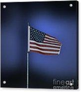 Usa Flag 09 Acrylic Print