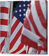 Usa Flags 01 Acrylic Print