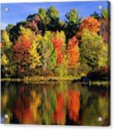 Usa, New Hampshire, Moultonborough Acrylic Print