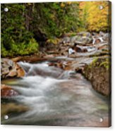 Usa, New Hampshire, White Mountains Acrylic Print