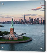 Usa, New York State, New York City Acrylic Print