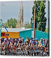 Usa Pro Challenge Bike Race Montrose Colorado Acrylic Print