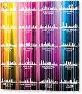 Usa Skylines 2 Acrylic Print