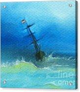 Usa Through The Storm Acrylic Print