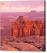 Usa, Utah, Canyonlands National Park Acrylic Print